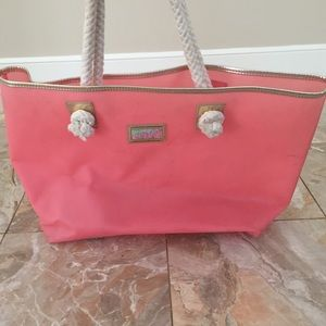 Lilly Pulitzer Coral Tote Bag